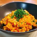 あさりとトマトのリゾット(生米から作る簡単レシピ)