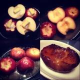 簡単、ストウブで作る 焼きリンゴ