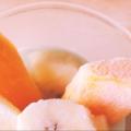 柿の豆乳ヨーグルトデザート