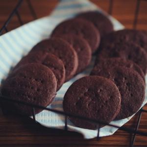 卵なし さくさくココアクッキー