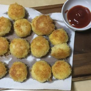 モッツァレラチーズ入り!ポテト団子フライ