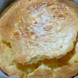 ホットケーキミックスで作る! ベイクドチーズケーキ