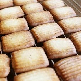 サブレ・バニーユ(基本の絞り出しクッキー)