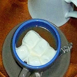 ミルクがない時のミルクティー