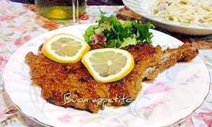 ☆★豚骨付き肉のウインナーシュ二ッツェル風♪★☆
