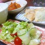マヨ&お酢で美味しいサラダ
