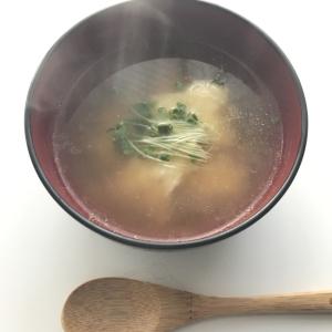 すいとんのコンソメスープ仕立て