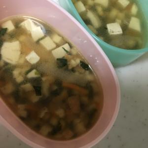 離乳食完了期☆鶏胸肉と大根と厚揚げの煮物☆