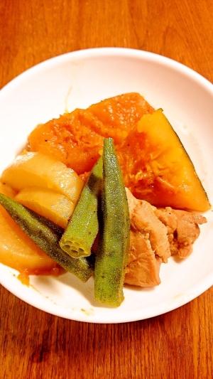 簡単和食 カボチャと鶏肉の煮物