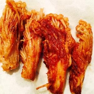 えのきのニンニク醤油焼き