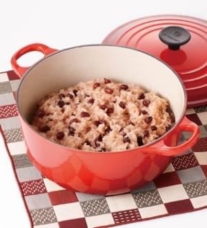 [ル・クルーゼ公式] おいしいお赤飯の炊き方