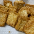 家計応援♪カリッ♪ふわっ♪塩豆腐の唐揚げ