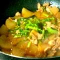 豚バラと大根の甘辛炒め