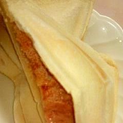 明太チーズホットサンド