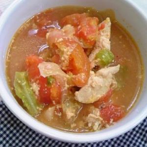 トマトミルクスープ