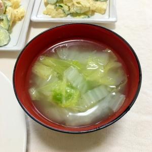 優しい味の鶏がら白菜だけの餡中華スープ♡