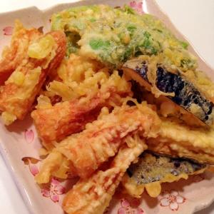 サクサクサクっと美味しい天ぷら
