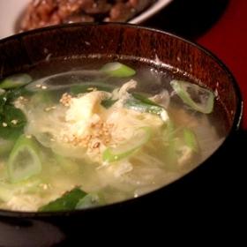 5分で出来る★ふわふわ卵のスープ