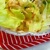 にんにくソースで♪ レタスがモリモリ食べれるサラダ