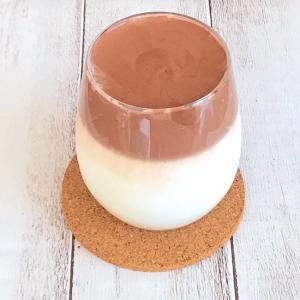 ダルゴナ風☆ミルクココア