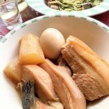 ☆★豚三枚肉のピリ辛煮込み♪★☆