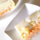 低カロリーのババロア風桃のヨーグルトケーキ