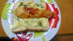 エビマヨチーズパン