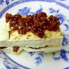肉味噌焼き豆腐