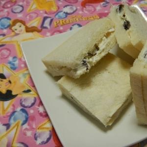 レーズンチーズサンド