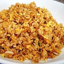 パラパラの納豆炒飯(チャーハン)