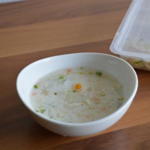 離乳食中期「かぶのシチュー」冷凍保存法