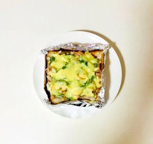 お手軽ツナチーズトースト