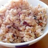 圧力鍋で炊く玄米雑穀ご飯