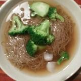 ブロッコリー冷麺