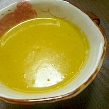 かぼちゃの煮物をリメイク*かぼちゃスープ*