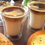 誰でも簡単おうちカフェ* セパレートのカフェラテ