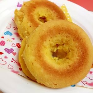 HMで!(^^)ふんわり豆腐の焼きドーナツ♪