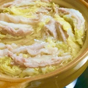簡単♫旨っ♫白菜と豚ばら肉のミルフィーユ鍋