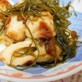 竹輪と切昆布の煮物
