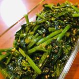 麺つゆで簡単☆ほうれん草の胡麻和え