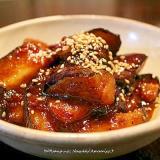 茄子の赤味噌