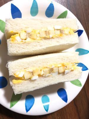 甘くておいしい♡バナナサンド