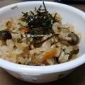 しめじと塩昆布の炊き込みご飯