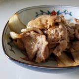 生姜焼きのタレアレンジ☆豚バラ肉と新玉葱のマヨ炒め