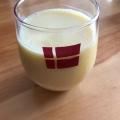 オレンジ牛乳