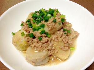 ご飯がすすむ☆挽き肉と里芋の味噌煮