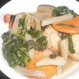 市販の肉団子で簡単スープ