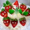 サンタとゆかいな仲間たち(クリスマスケーキ)