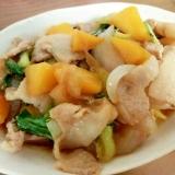 マンゴーと豚肉の炒め物