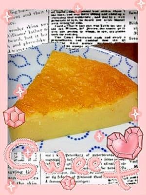 かぼちゃチーズケーキっ♪